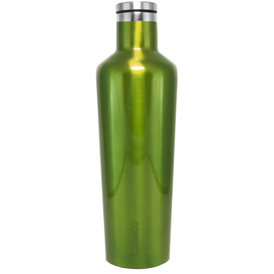 Corkcicle Green Translucent 25 oz Canteen