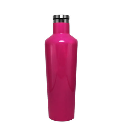 Corkcicle Hot Pink Gloss 16 oz Canteen