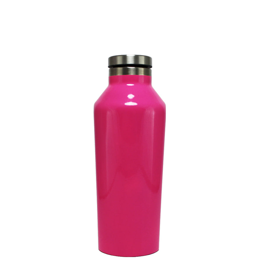 Corkcicle Hot Pink Gloss 9 oz Canteen