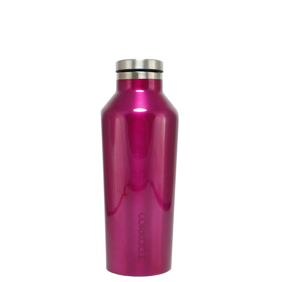 Corkcicle Hot Pink Translucent 9 oz Canteen