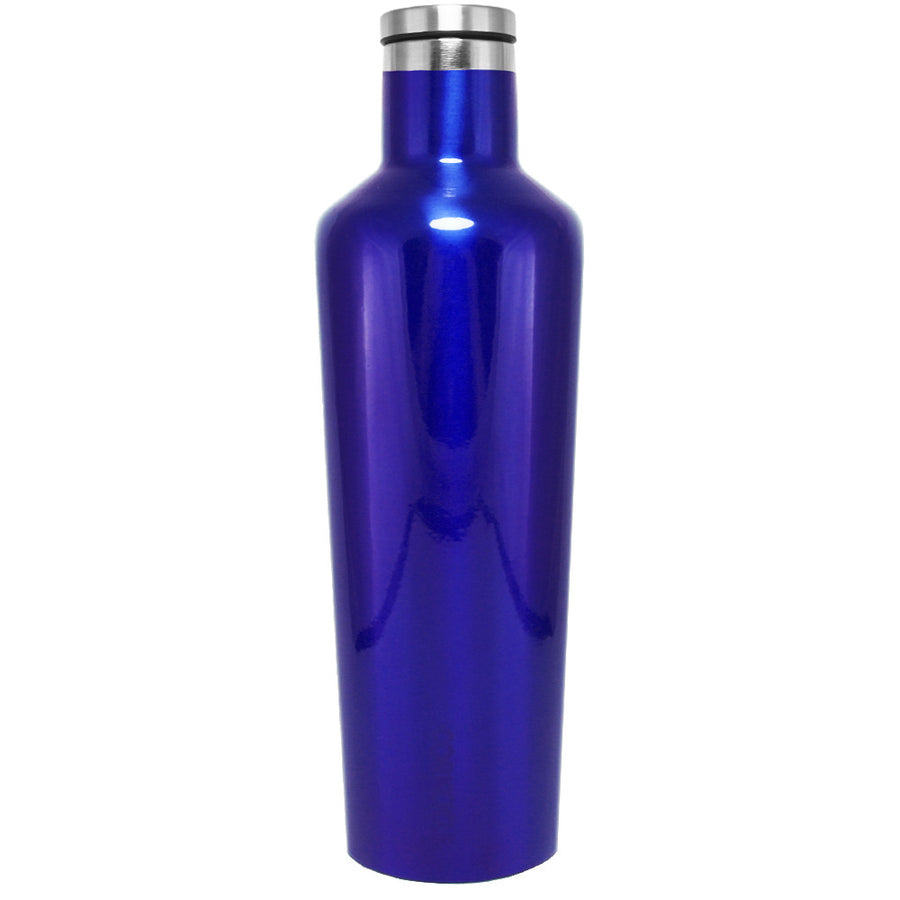 Corkcicle Intense Blue Translucent 25 oz Canteen