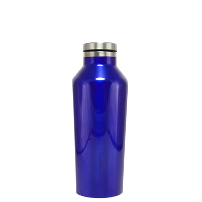 Corkcicle Intense Blue Translucent 9 oz Canteen