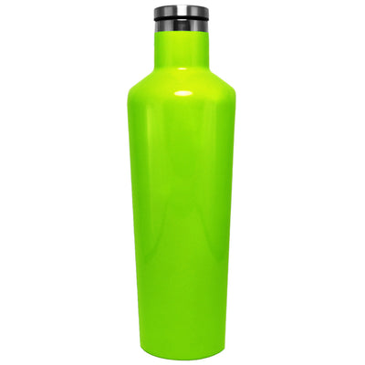 Corkcicle Neon Green Gloss 25 oz Canteen
