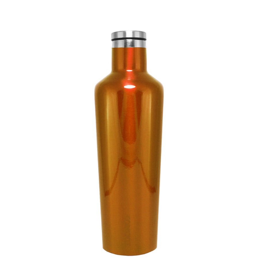 Corkcicle Orange Translucent 16 oz Canteen