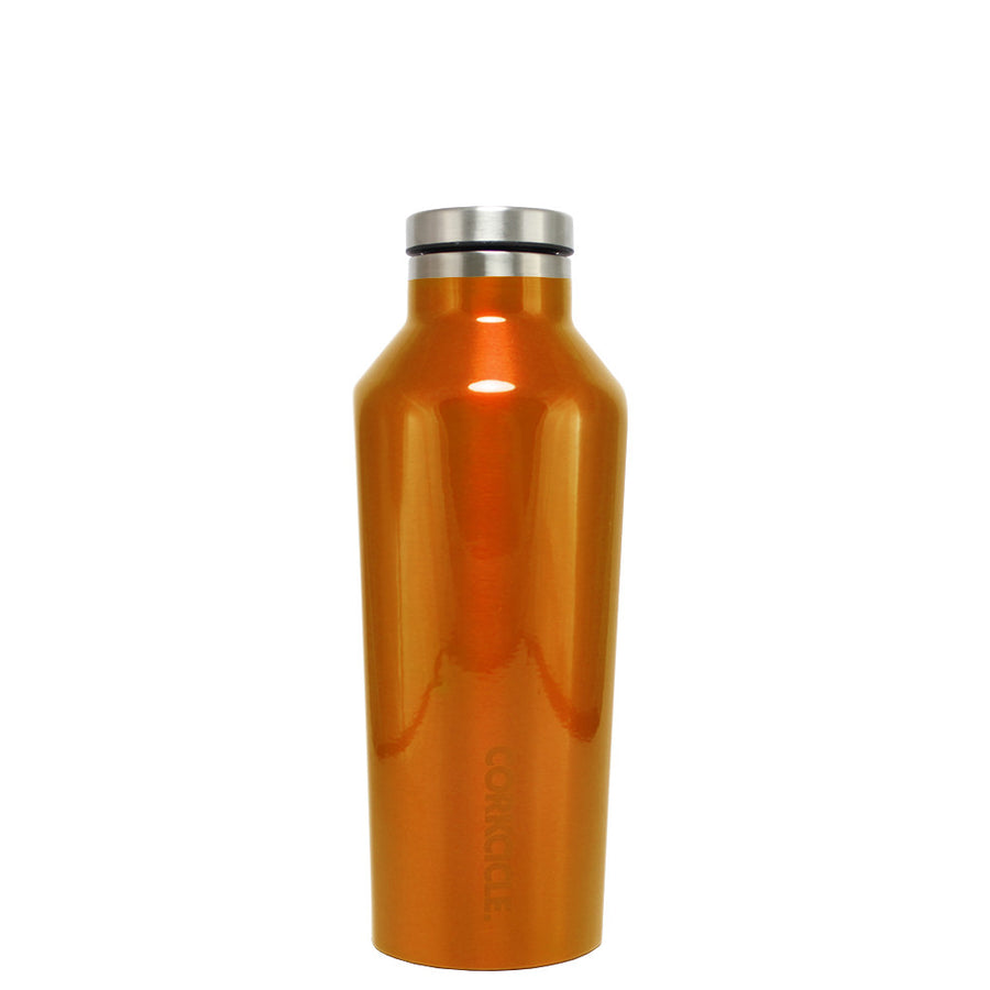 Corkcicle Orange Translucent 9 oz Canteen