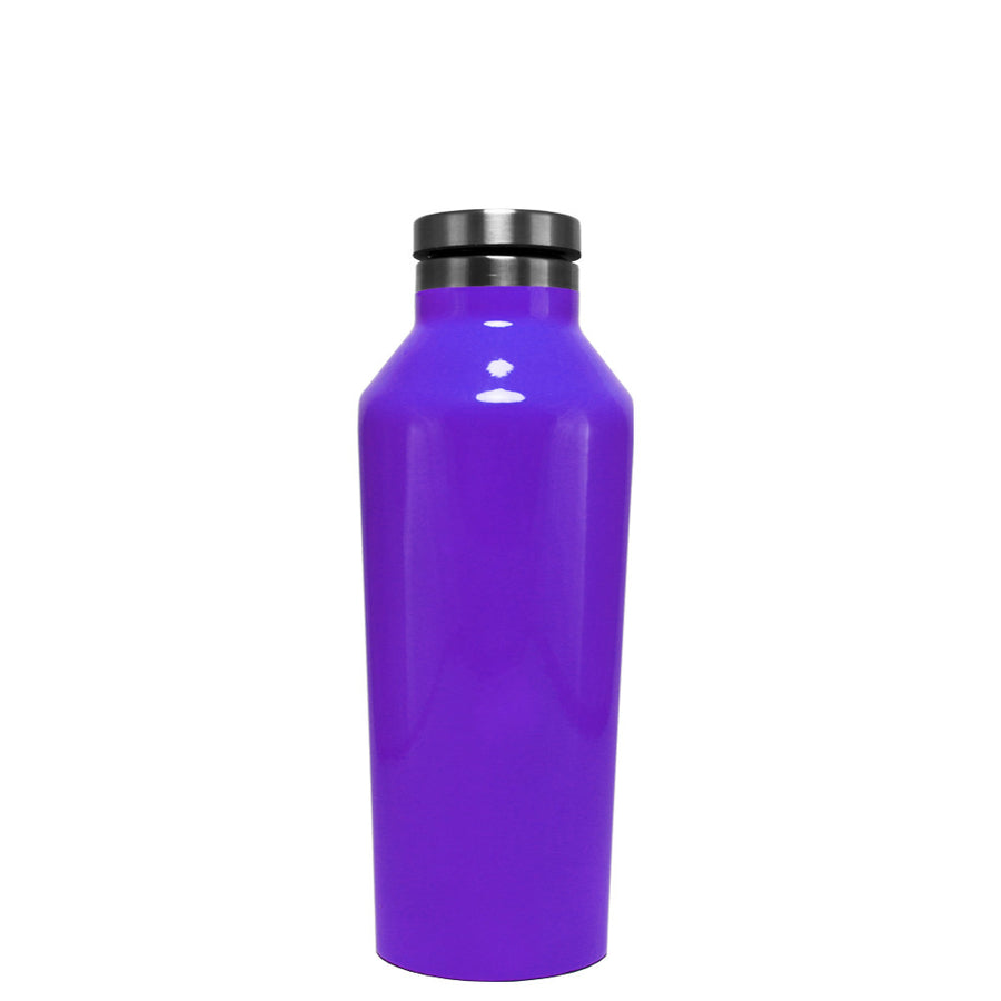 Corkcicle Purple Gloss 9 oz Canteen