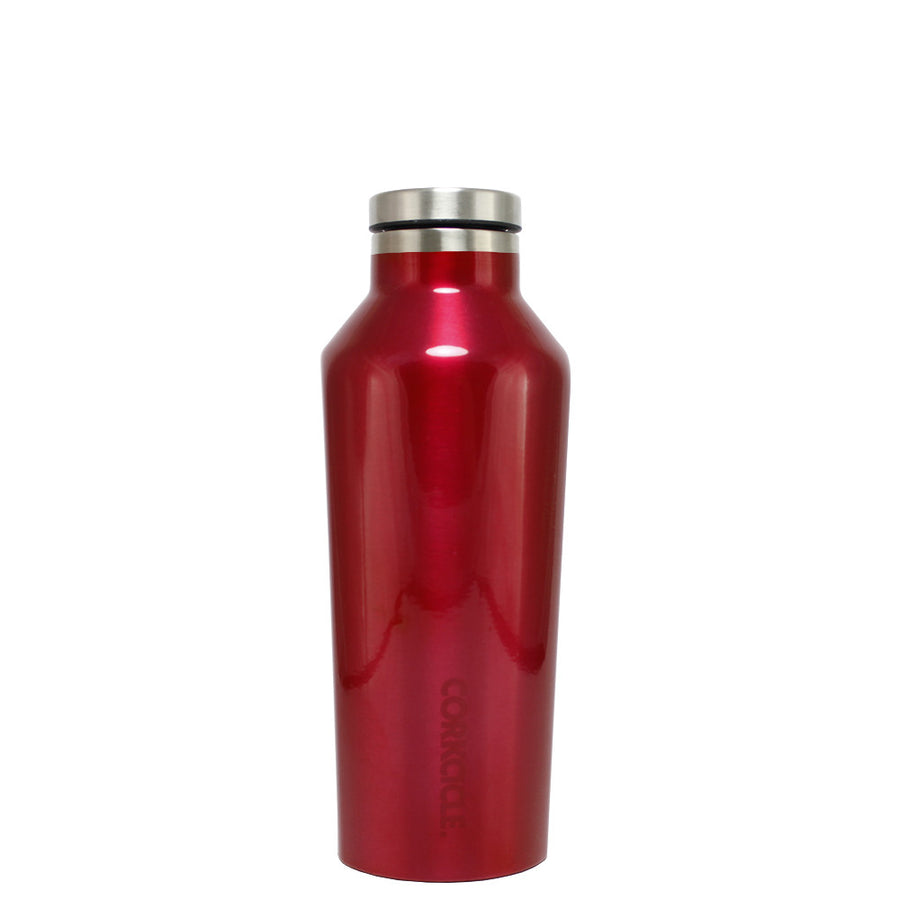 Corkcicle Red Translucent 9 oz Canteen
