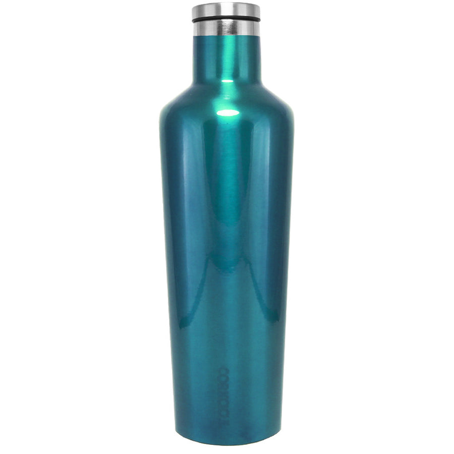 Corkcicle Teal Translucent 25 oz Canteen