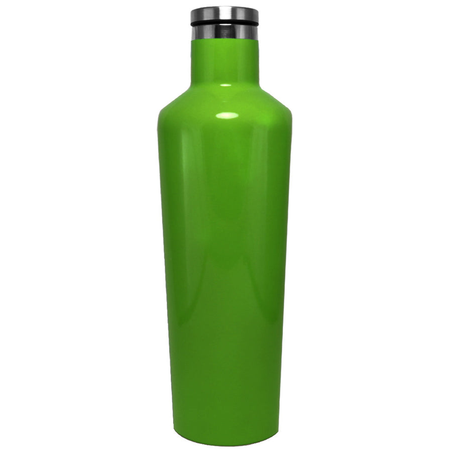 Corkcicle Tractor Green Gloss 25 oz Canteen