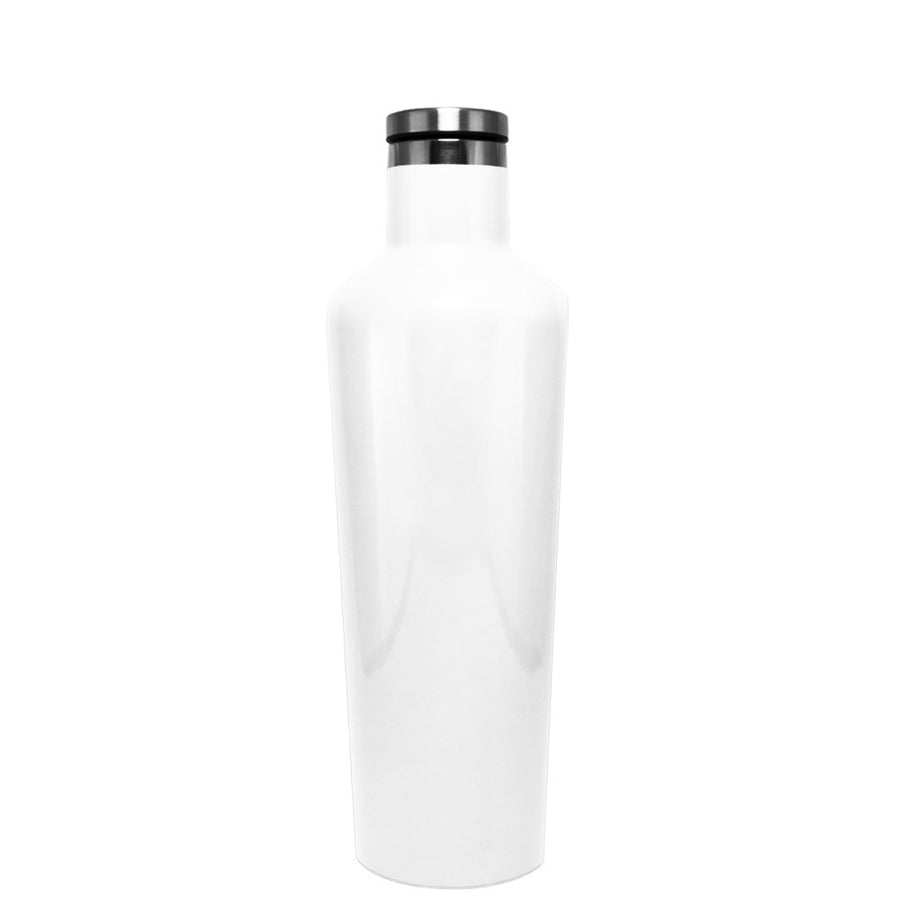 Corkcicle White Gloss 16 oz Canteen