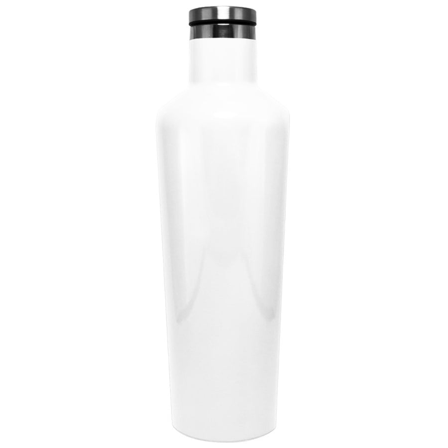 Corkcicle White Gloss 25 oz Canteen