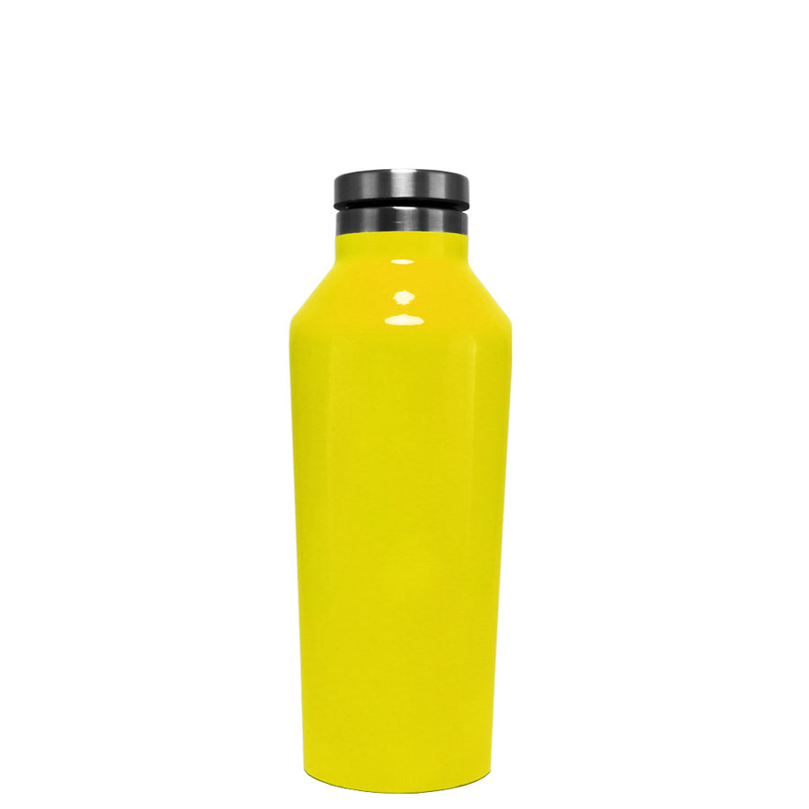 Corkcicle Yellow Gloss 9 oz Canteen