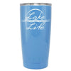 YETI Lake Life on Powder Blue Gloss 20 oz Tumbler