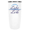 YETI Lake Life on White Gloss 20 oz Tumbler