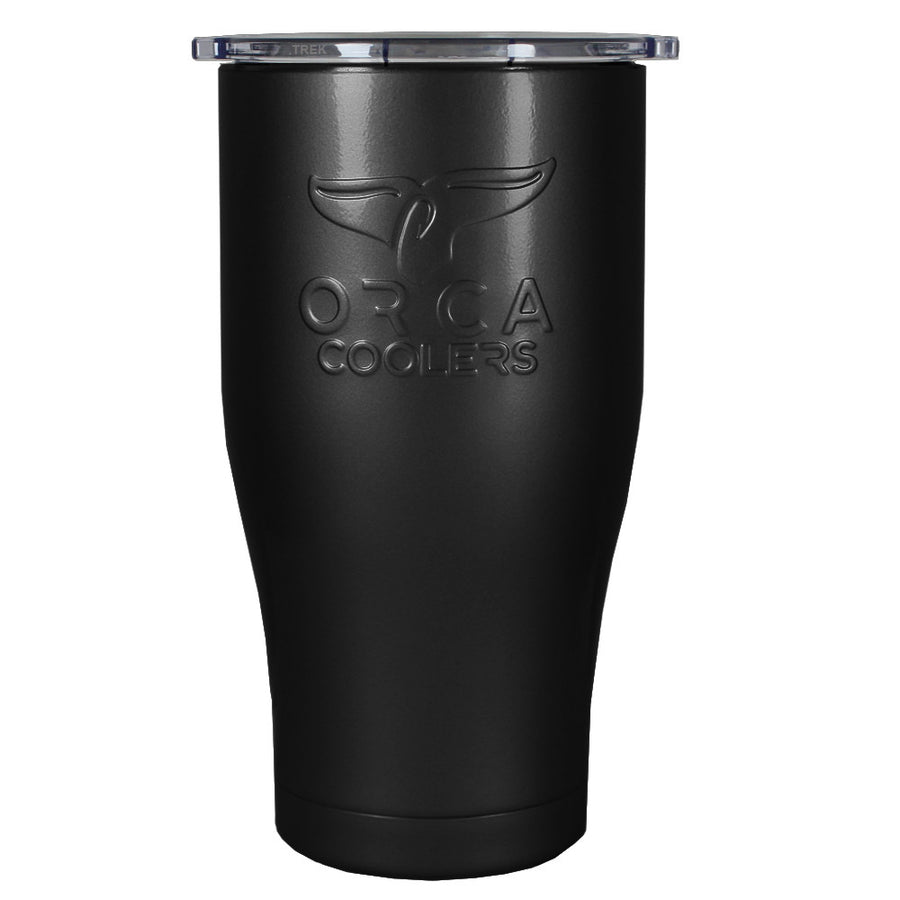 Custom ORCA 27 oz Black Gloss Design Your Own Chaser Tumbler