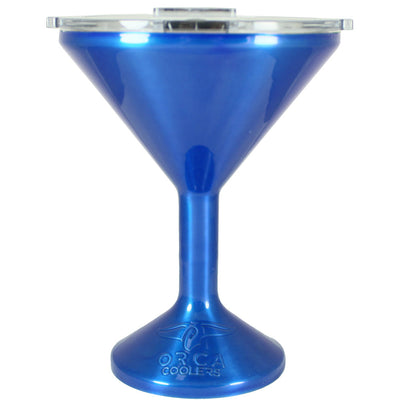 Orca Blue Translucent Chasertini 8 oz Tumbler