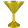 Orca Gold Translucent Chasertini 8 oz Tumbler