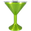 Orca Candy Apple Green Translucent Chasertini 8 oz Tumbler