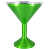 Orca Green Translucent Chasertini 8 oz Tumbler