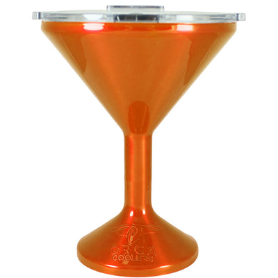 Orca Orange Translucent Chasertini 8 oz Tumbler