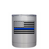 Blue Line American Flag Police Lowball Tumbler