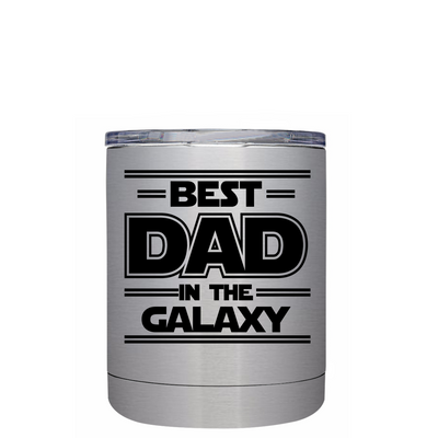 Best Dad in the Galaxy Lowball Tumbler