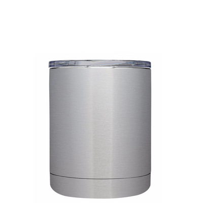 Best Dad in the Galaxy on Stainless 10 oz Lowball Tumbler
