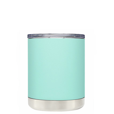 Best Mom Ever on Seafoam 10 oz Lowball Tumbler