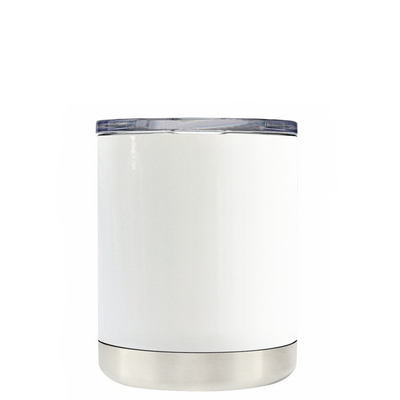 All I Need is Vitamin Sea on White 10 oz Lowball Tumbler
