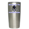 Blessed are the PeaceMakers Police Tumbler