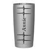 Personalized Heart Beat Pulse 20 oz Tumbler