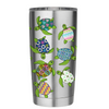 Sea Life Turtles Wrap on Stainless 20 oz Tumbler