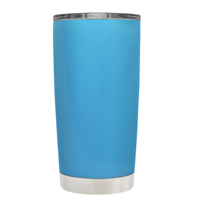 Class of 2018 on Baby Blue 20 oz Graduation Tumbler