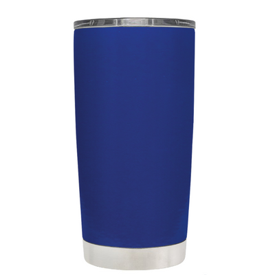 Class of 2018 on Blue 20 oz Graduation Tumbler
