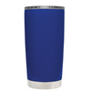 Beach Hair Tan Lines and Mermaid Vibes on Blue 20 oz Tumbler Cup
