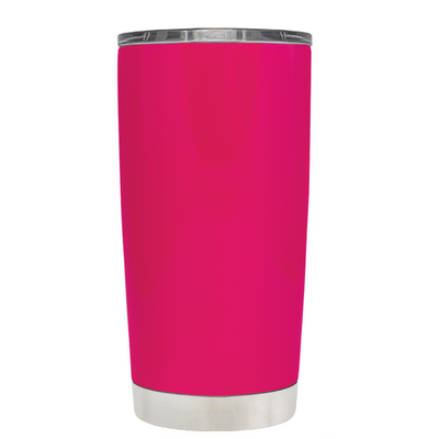 Do, or do not. There is not Try on Hot Pink 20 oz Graduation Tumbler