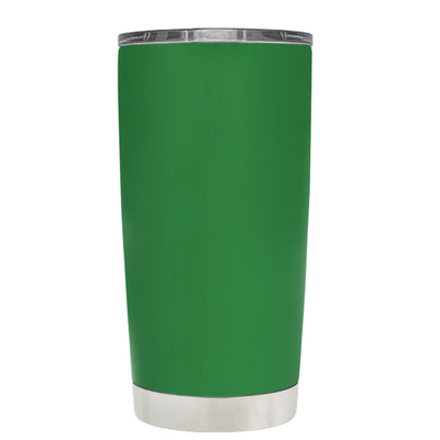Do, or do not. There is not Try on Kelly Green 20 oz Graduation Tumbler