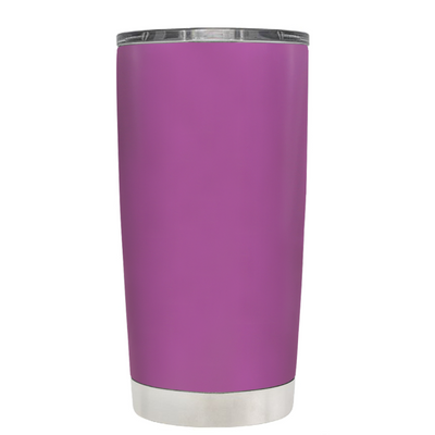 Beach Hair Tan Lines and Mermaid Vibes on Light Violet 20 oz Tumbler Cup