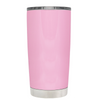 Be Strong when you are weak on Pretty Pink 20 oz Police Tumbler