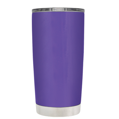 Do, or do not. There is not Try on Purple 20 oz Graduation Tumbler