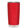 Beach Hair Tan Lines and Mermaid Vibes on Red 20 oz Tumbler Cup