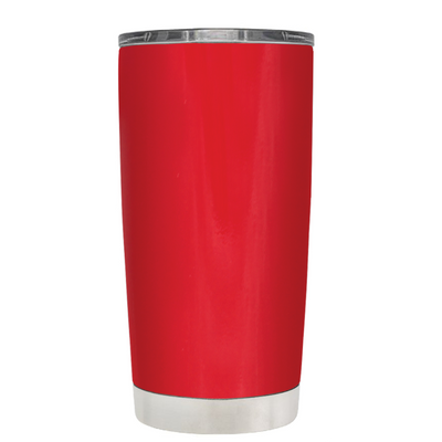 Class of 2018 on Red 20 oz Graduation Tumbler