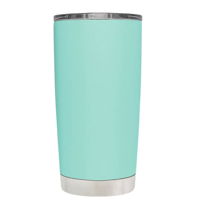 2018 Graduation Cap Monogram on Seafoam 20 oz Tumbler Cup