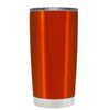 2018 Graduation Cap Monogram on Translucent Orange 20 oz Tumbler Cup