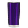 Beach Hair Tan Lines and Mermaid Vibes on Translucent Purple 20 oz Tumbler Cup