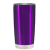 Beach Hair Tan Lines and Mermaid Vibes on Violet 20 oz Tumbler Cup