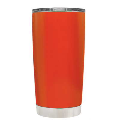 Beach Hair Tan Lines and Mermaid Vibes on Vermilion 20 oz Tumbler Cup