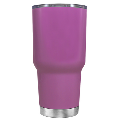 Do, or do not. There is not Try on Light Violet 30 oz Graduation Tumbler
