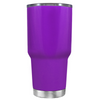 Beach Hair Tan Lines and Mermaid Vibes on Purple 30 oz Tumbler Cup