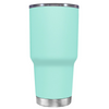 Do, or do not. There is not Try on Seafoam 30 oz Graduation Tumbler